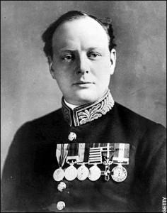 Winston Churchill en Premier Lord de l'Amirauté