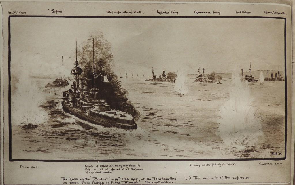 Bouvet dessin 1 illustrated london news 17 avril 1915 LR